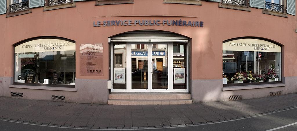 Photo Pompes Funèbres Publiques Rhénanes Pôle Funéraire Public De Strasbourg
