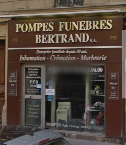 Photo Pompes Funèbres Bertrand