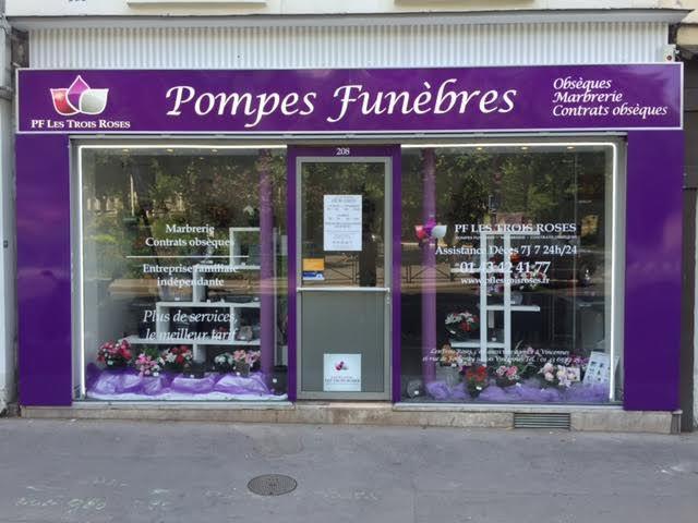 Photo Pompes Funèbres Les Trois Roses