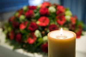 fleurs de deuil