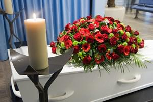 formes de fleurs de deuil