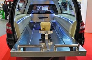 urne funeraire transport avion