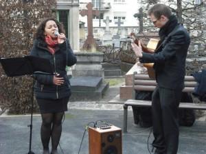 Duo de musiciens Elicci